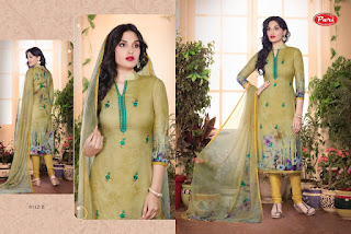 Pari 8108 -8114 SERIES SUITS WHOLESALER LOWEST PRICE SURAT GUJARAT