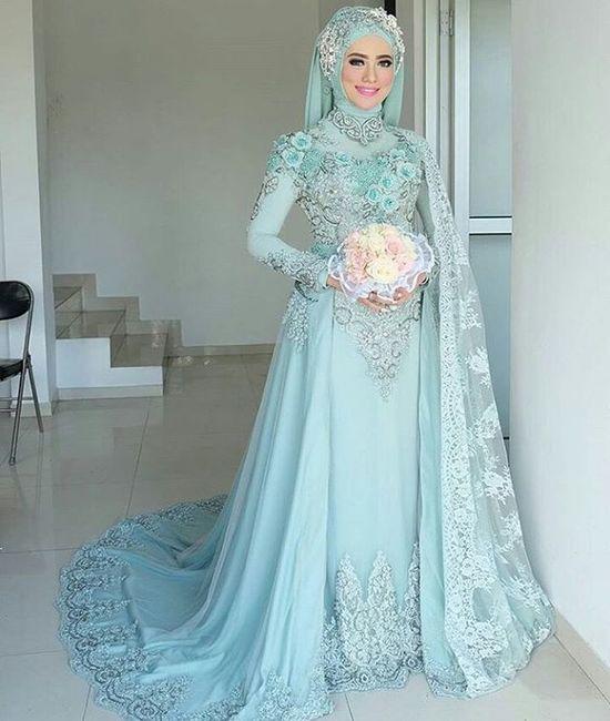 35 Taste Gaun Pengantin Muslimah Terindah Dan Termewah Terbaru
