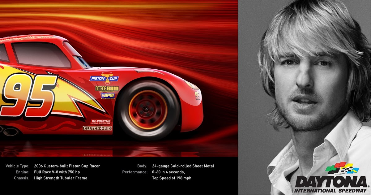 Owen Wilson Named As Grand Marshal For The 59th Annual Daytona 500