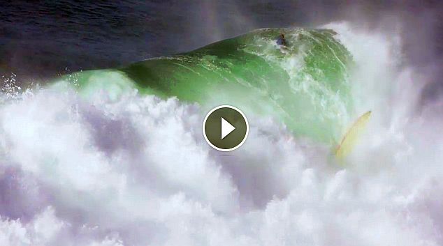 Surviving Over-the-Falls in Massive Nazare Surf with Will Skudin