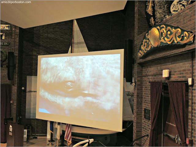 Cook Memorial Theater en el Museo de las Ballenas de NewBedford