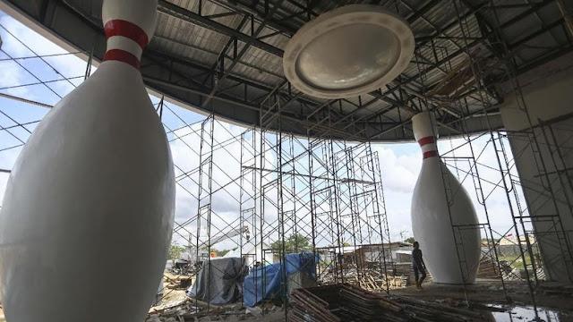 Renovasi Venue Tambahan Asian Games Menunggu Inpres Baru