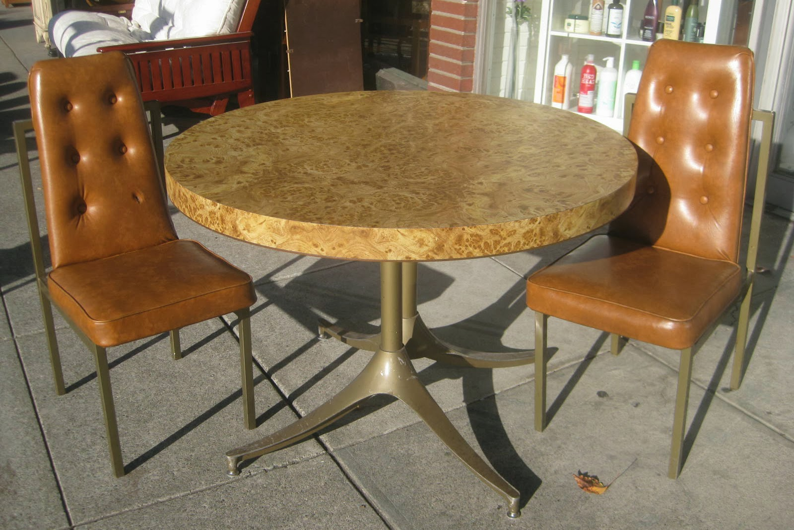 Retro Kitchen Chairs Vintage Metal For Sale 1950s Table And Home Decorating
