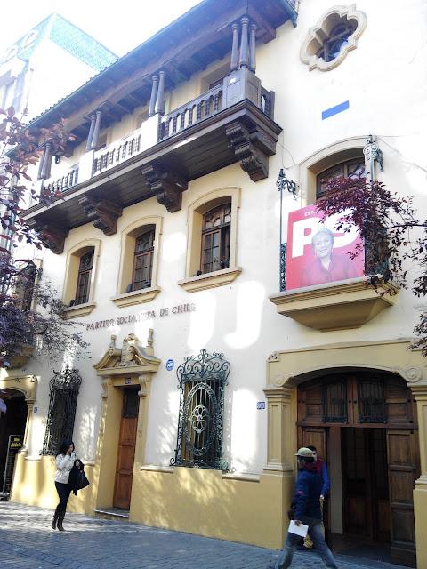 Barrio París-Londres Santiago de Chile