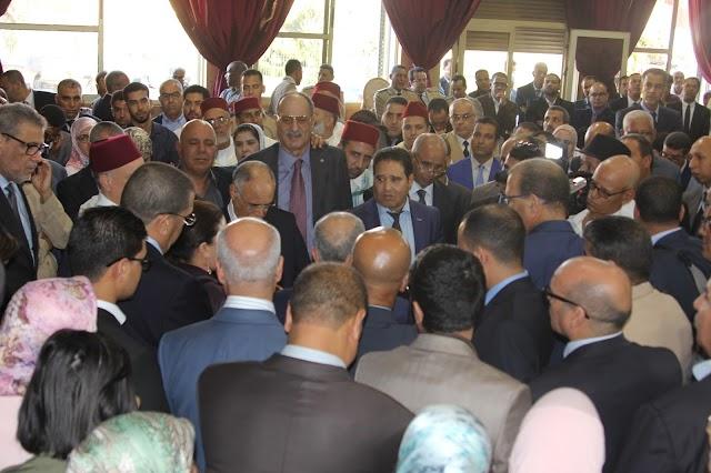 دموع في توديع عامل إقليم برشيد يحيي بايا