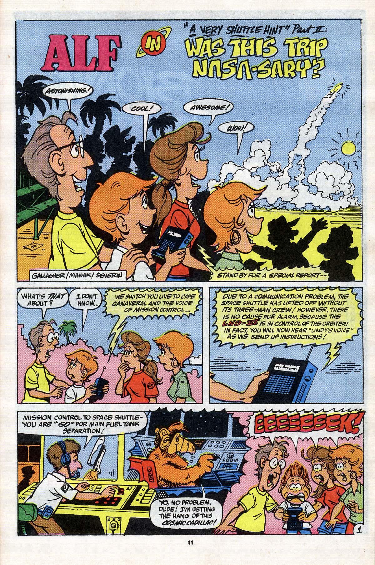 Read online ALF comic -  Issue # _Annual 3 - 11