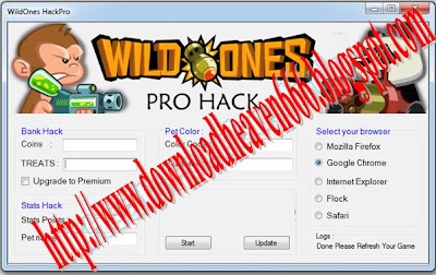 Cheat Wild Ones 2013 Cheat Wild Ones Terbaru 2013 Wild Ones Hack Cheat pet stats point hack pet color hack new updates auto aim enemy to get 400x252