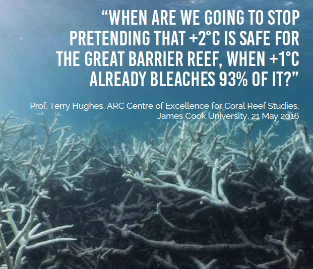 "Climate Code Red: ""Saving The Reef"": The Triumph Of"