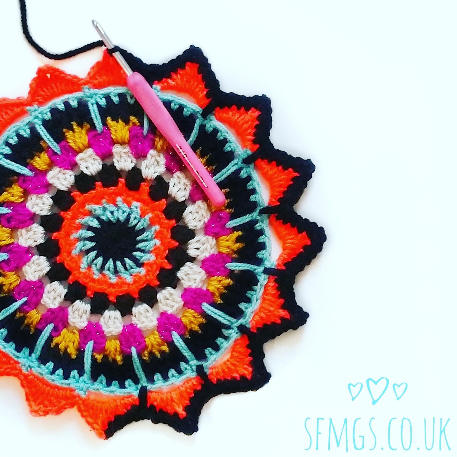 free mandala crochet pattern doily gypsy boho