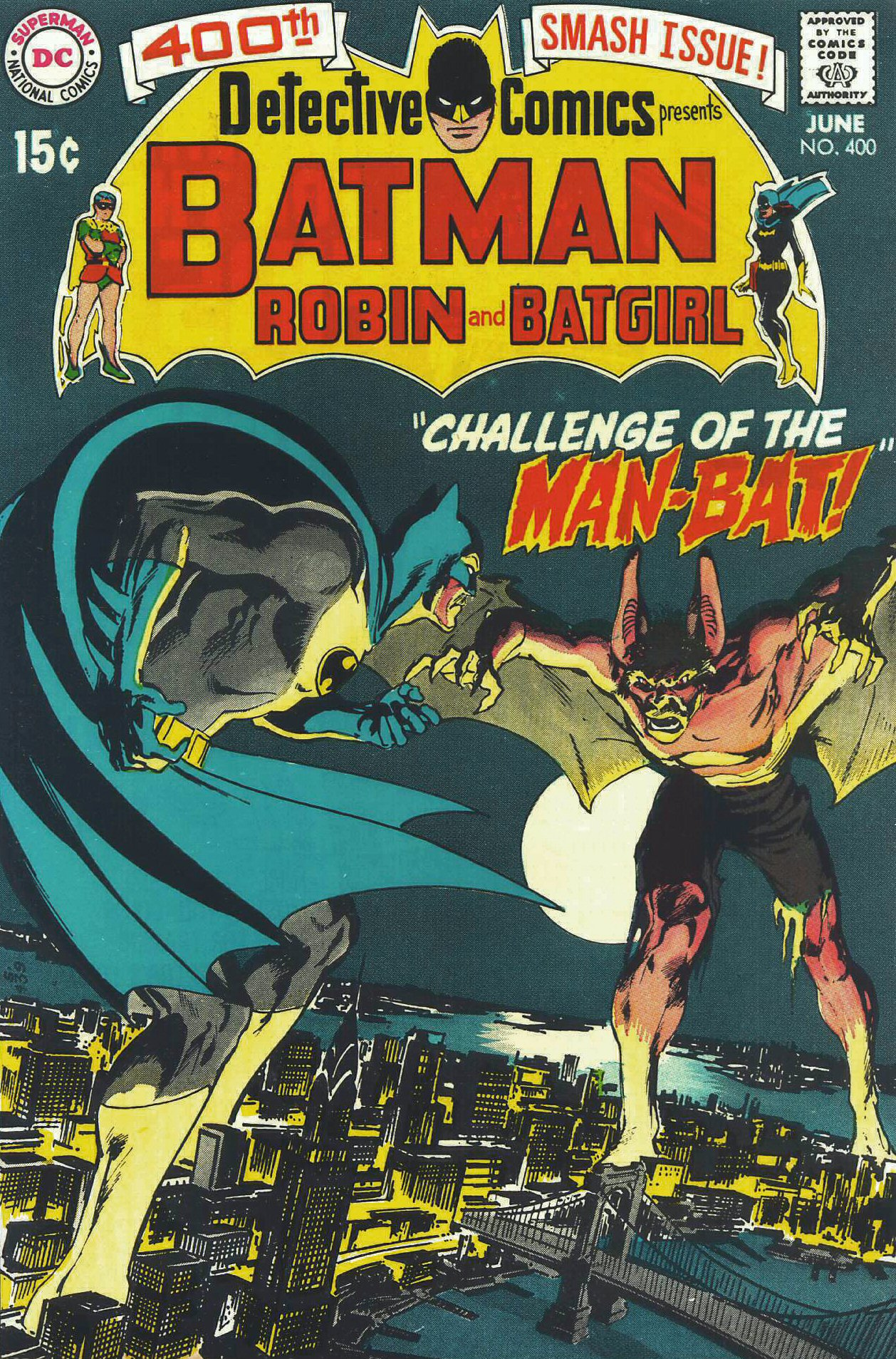 Detective Comics (1937) 400 Page 1