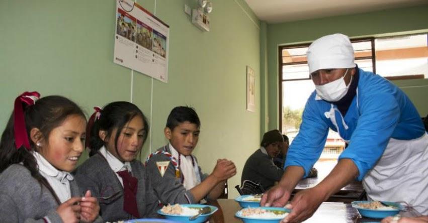 QALI WARMA: Escolares de Huánuco disfrutan los desayunos y almuerzos preparados por padres de familia - www.qaliwarma.gob.pe