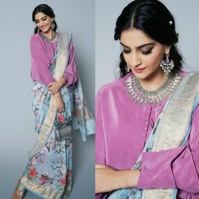 Sonam Kapoor is Giving us Major Sari Goals