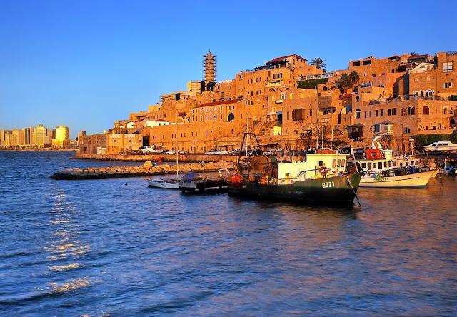 торговом порту Яффо