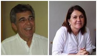 Resultado de imagem para ZÉLIA SANTOS E MARCONI BARRETO