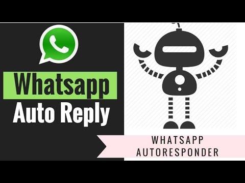 auto responder for whatsapp - RKJOYSTORE
