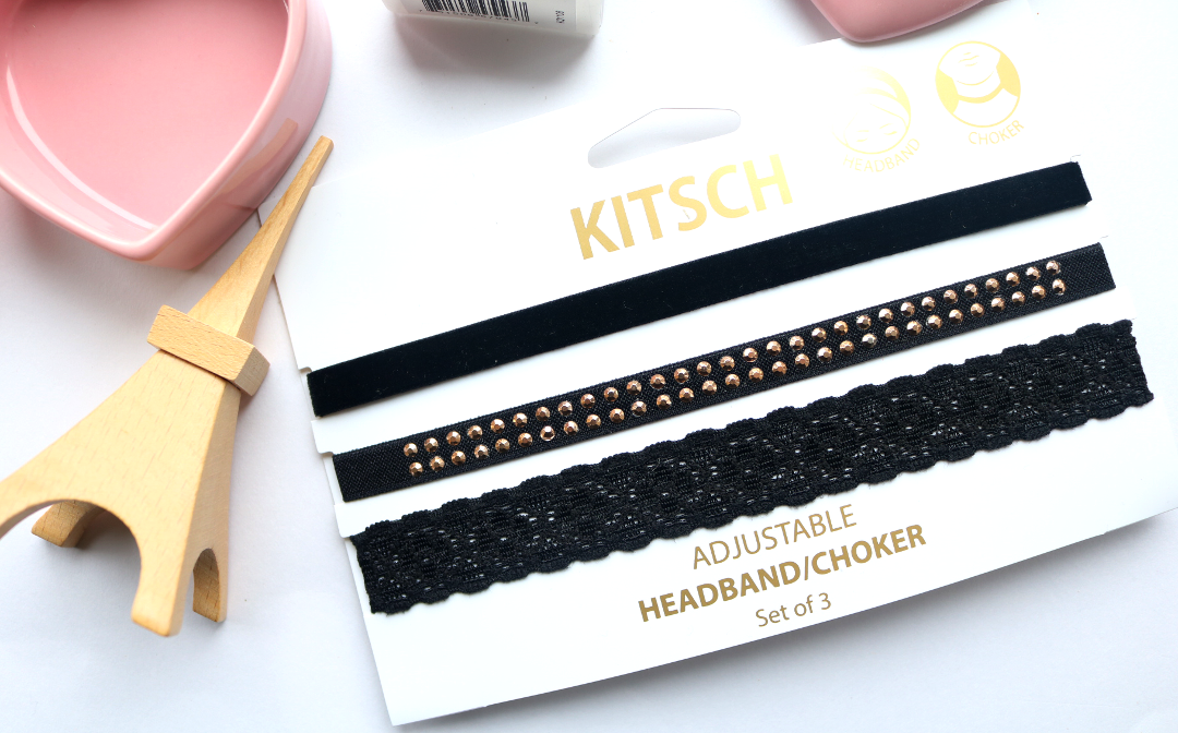 KITSCH Headband/Choker Set