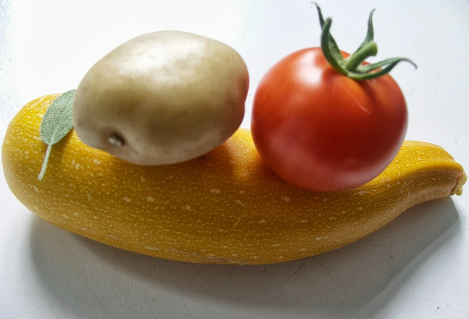 ovenschotel aardappel courgette