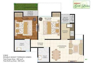 804-sq.ft.-2bhk-floor-plan-Antriksh-Golf-link