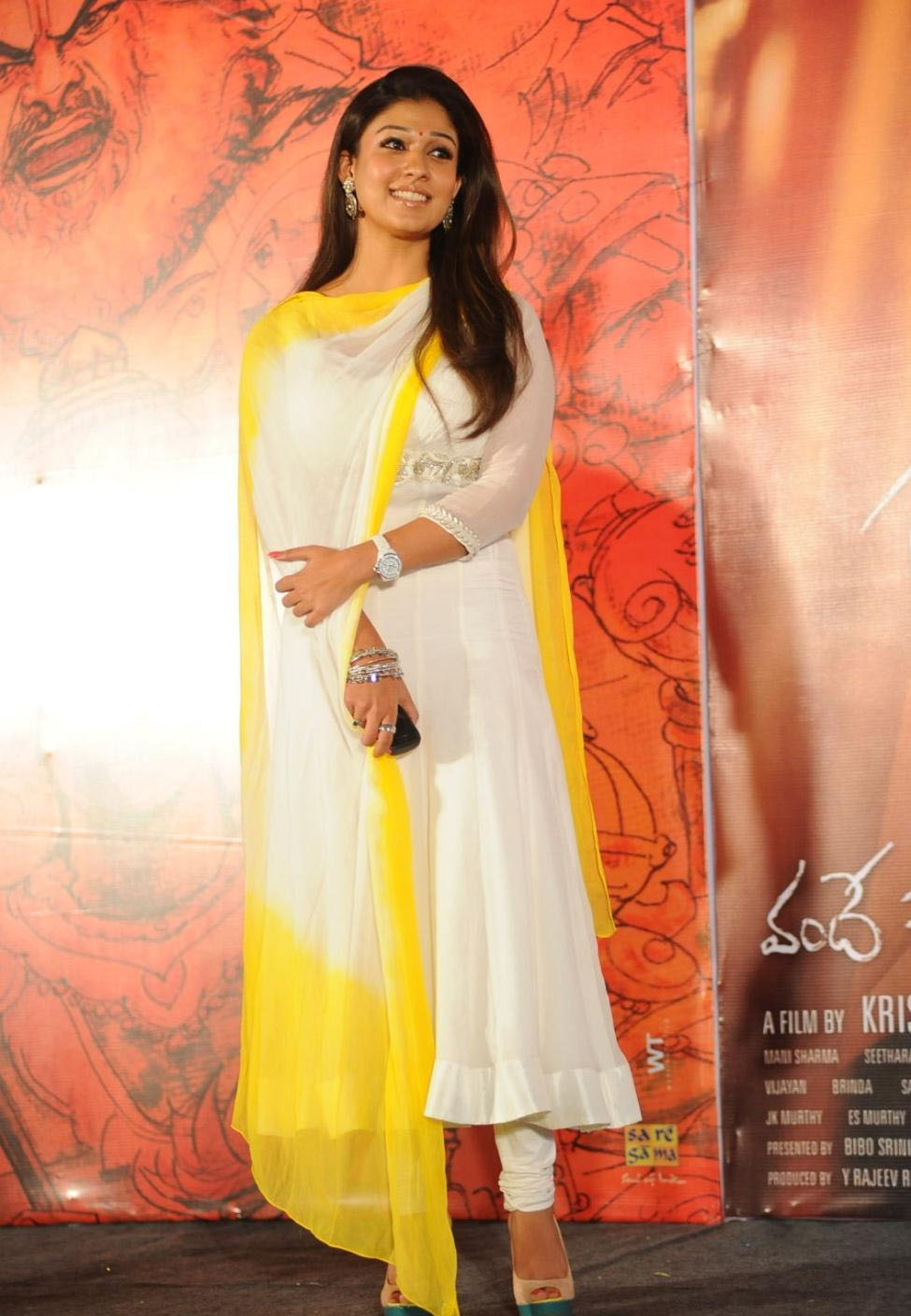 Nayanthara latest Photos in Churidar ~ Celebrity Event ...
