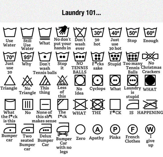 Funny Laundry 101 Poster Picture