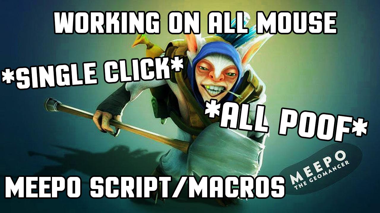 Macros and Scripts: MEEPO MACROS DOTA 2 | 100% WORKING IN