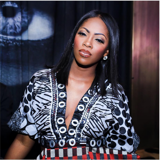 Award winning Nigerian singer, Tiwa Savage