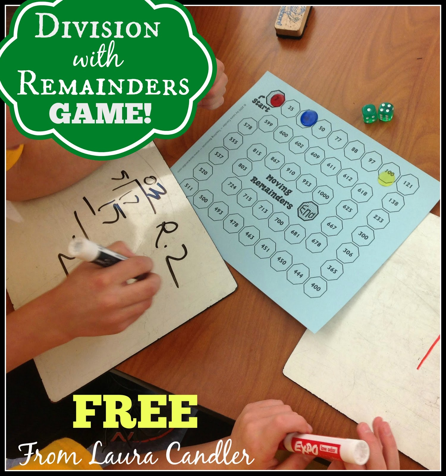 Dividing With Remainders Game