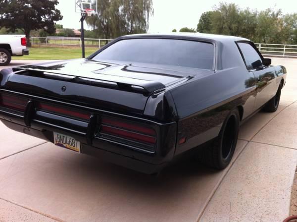 Black Car 1972 Ford Galaxie Buy American Muscle Car