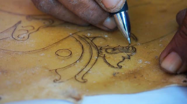 Proses Nyoret Tatah Sungging Sidowarno