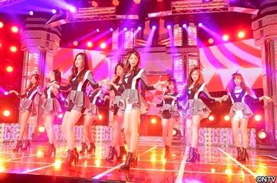 SNSD Overload: Girls' Generation in NTV Live Monster