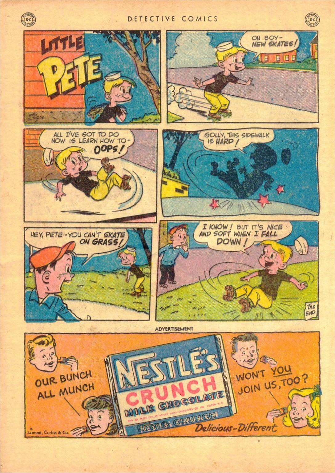 Read online Detective Comics (1937) comic -  Issue #161 - 34