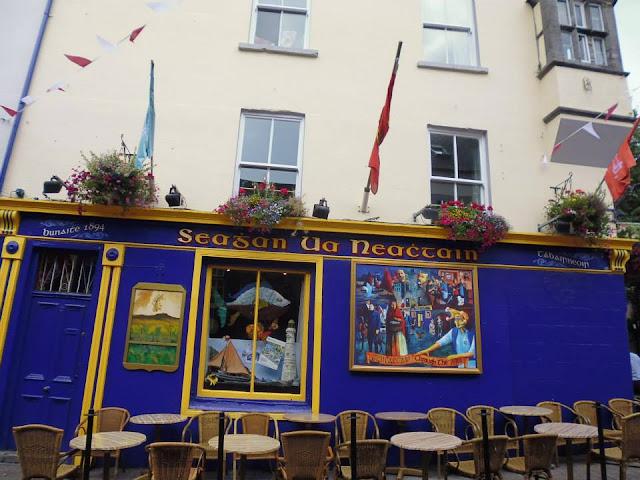 Pub Tigh Neachtain (Galway) (Irlanda) (@mibaulviajero)