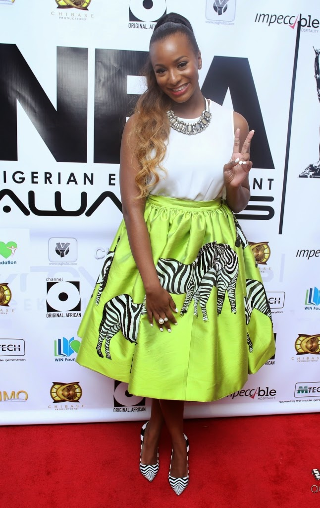 P67A9908 Red carpet photos from 2014 Nigeria Entertainment Awards