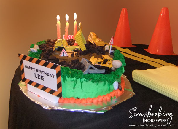 Construction Theme 3rd Birthday Party