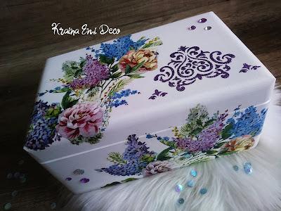 Kwiecista szkatułka / Flowery casket