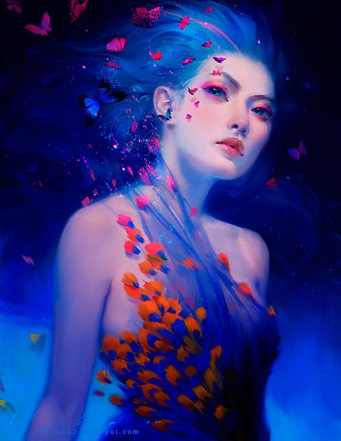 Bao Pham. Цифровая живопись 25