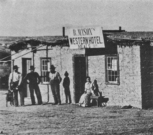 River Oaks Dodge >> Civil War Horror: Wild West Photo Friday: Hotel in ...