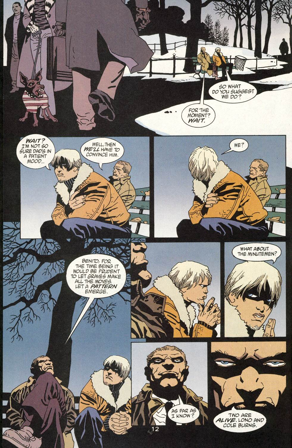 Read online 100 Bullets comic -  Issue #20 - 14