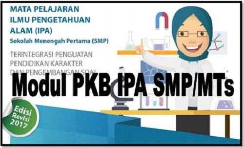Download Modul PKB IPA Sekolah SMP/MTs Edisi Revisi 2017