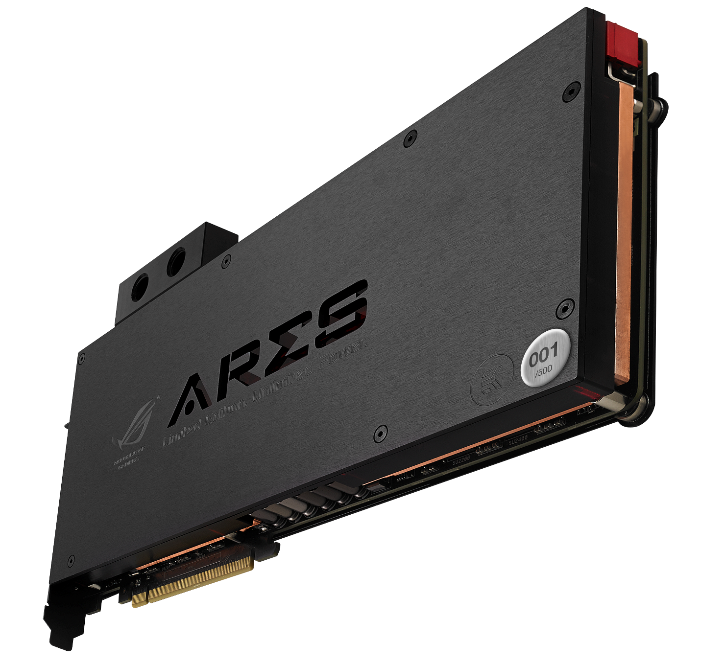 ASUS ROG Ares III water-cooled gaming graphics card