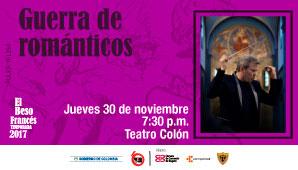 Teatro Colon presenta: GUERRA DE ROMANTICOS - OSNC