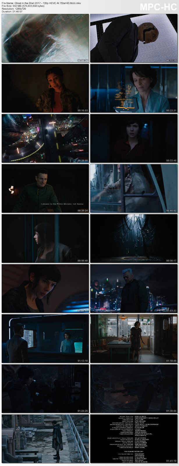 ghost in the shell 2017 full movie 720p download