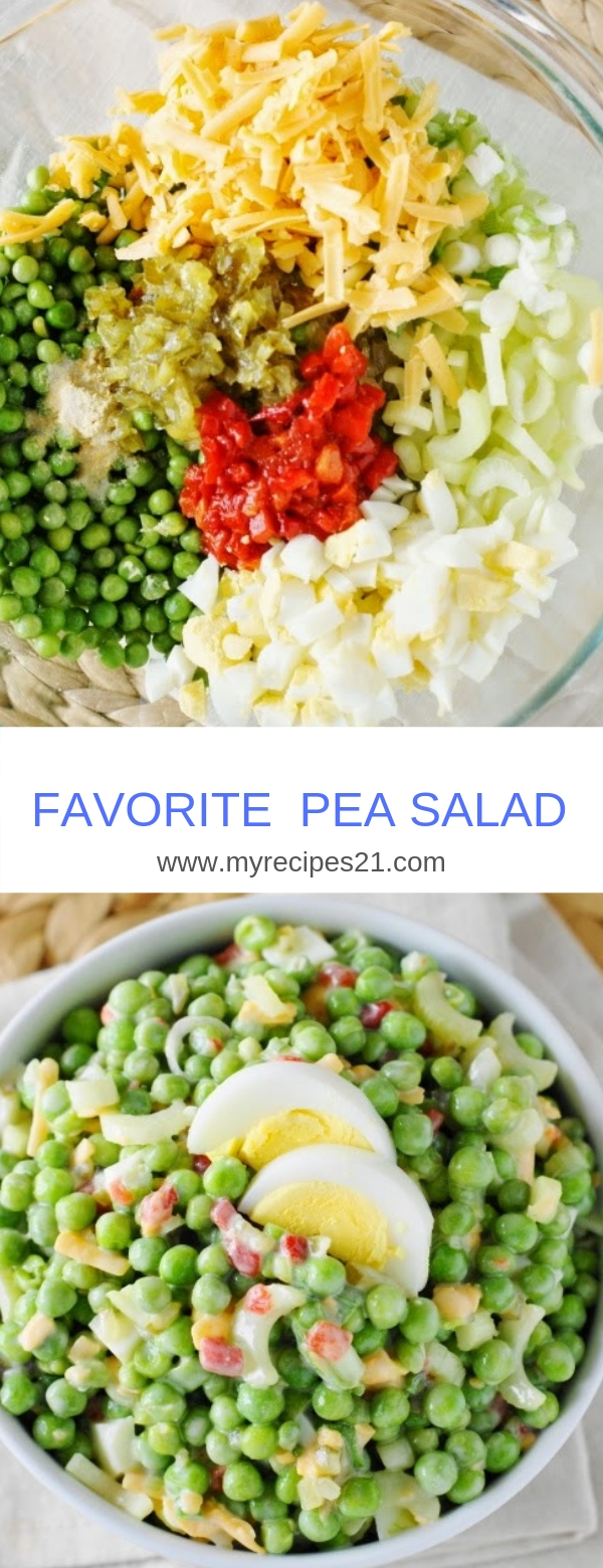 FAVORITE PEA SALAD