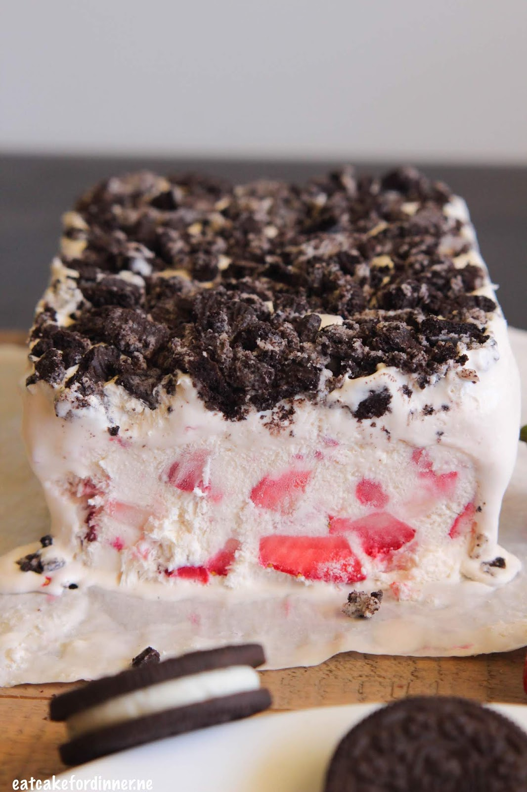 Eat Cake For Dinner Strawberry Oreo Frozen Fruit Dessert