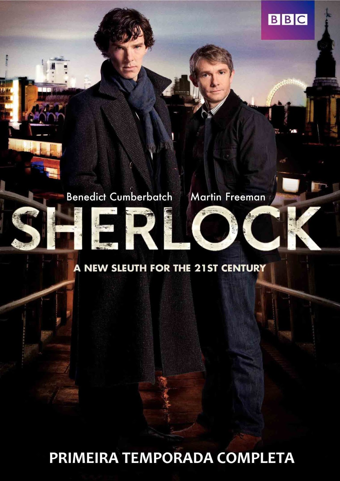 Sherlock 1ª Temporada Torrent - BluRay 720p Dual Áudio