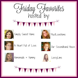 Friday Favorites Linky Party Hosts