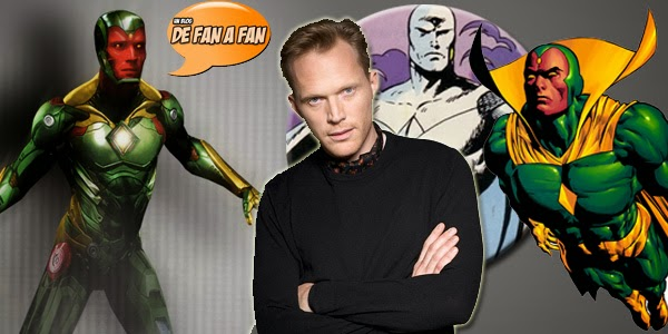 Paul Bettany como la Visión