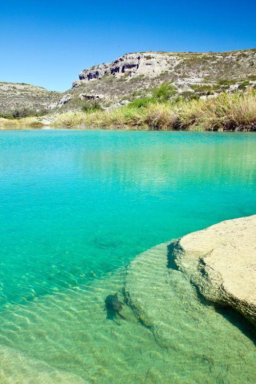 Devils River near Del Rio, Texas