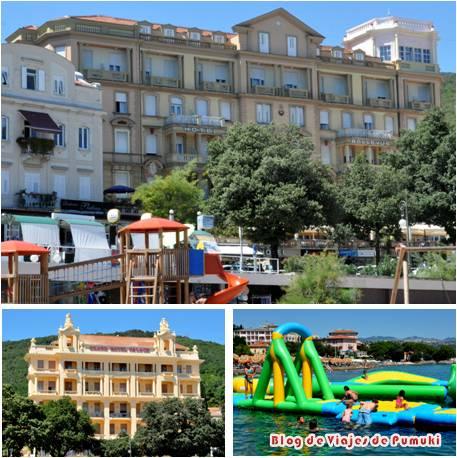 Opatija en Istria ofrece al viajero playa y aguas termales en Croacia