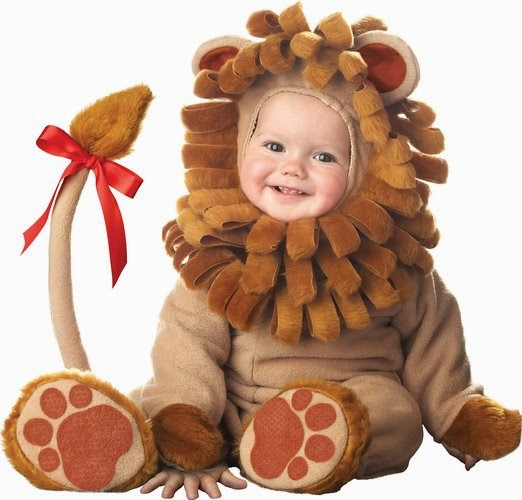 Infant Unisex Baby Lion Costume
